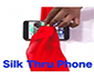 FOULARD A TRAVERS LE TELEPHONE - SILK THRU PHONE