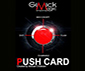 PUSH CARD - Dos Bleu - CHATELAIN
